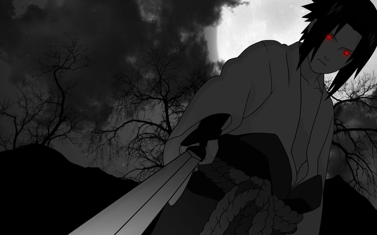 Uchiha Sasuke Chokuto Sword Full Hd Wallpaper Sasuke