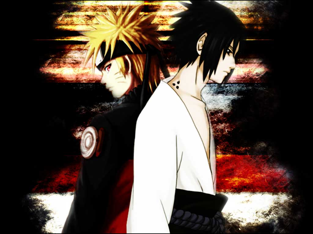 Naruto Shippuden Naruto And Sasuke HD