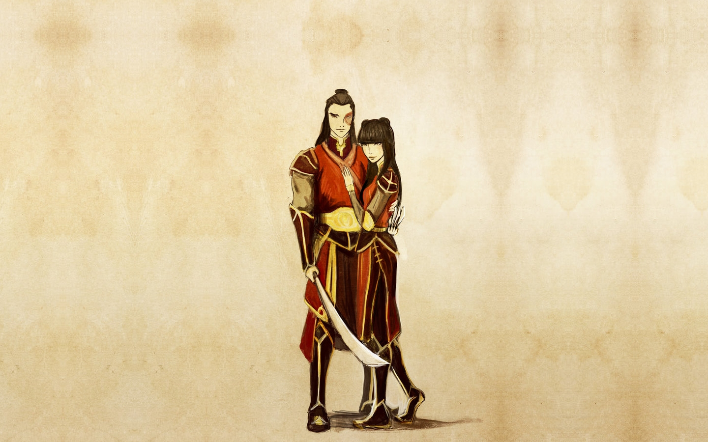 Avatar The Last Airbender Wallpaper Zuko And Mai Fanart 441546