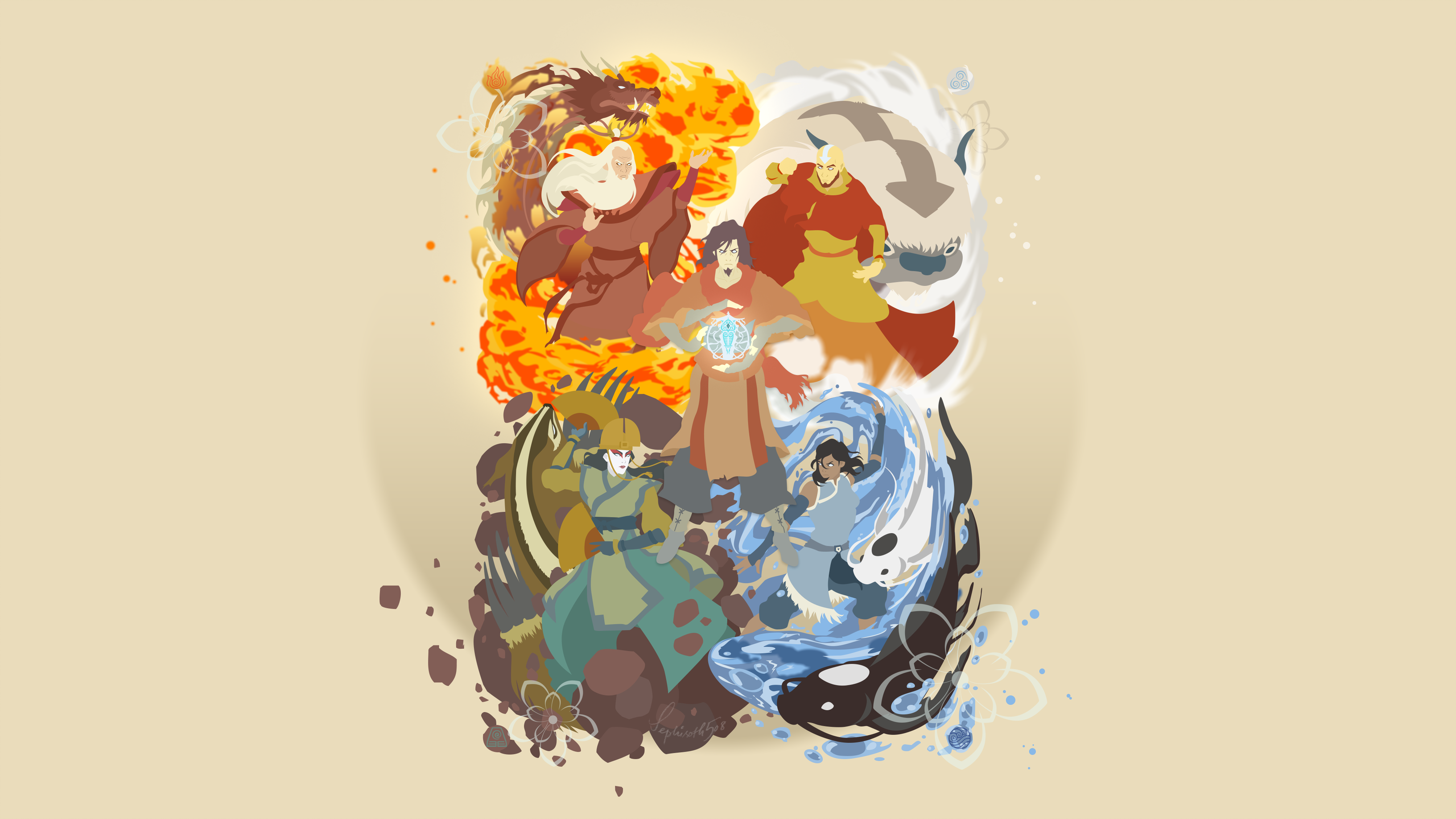 View Fullsize Avatar Avatar The Last Airbender Wallpaper Appa