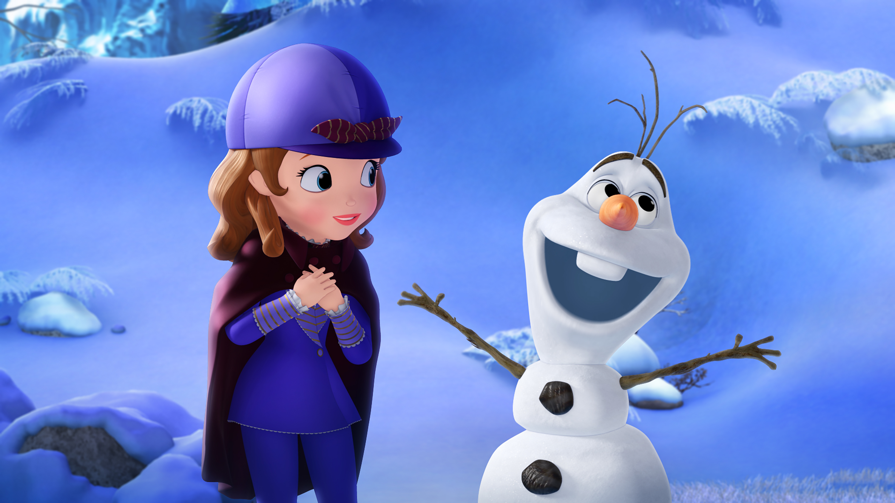 Sofia The First Olaf , HD Wallpaper & Backgrounds