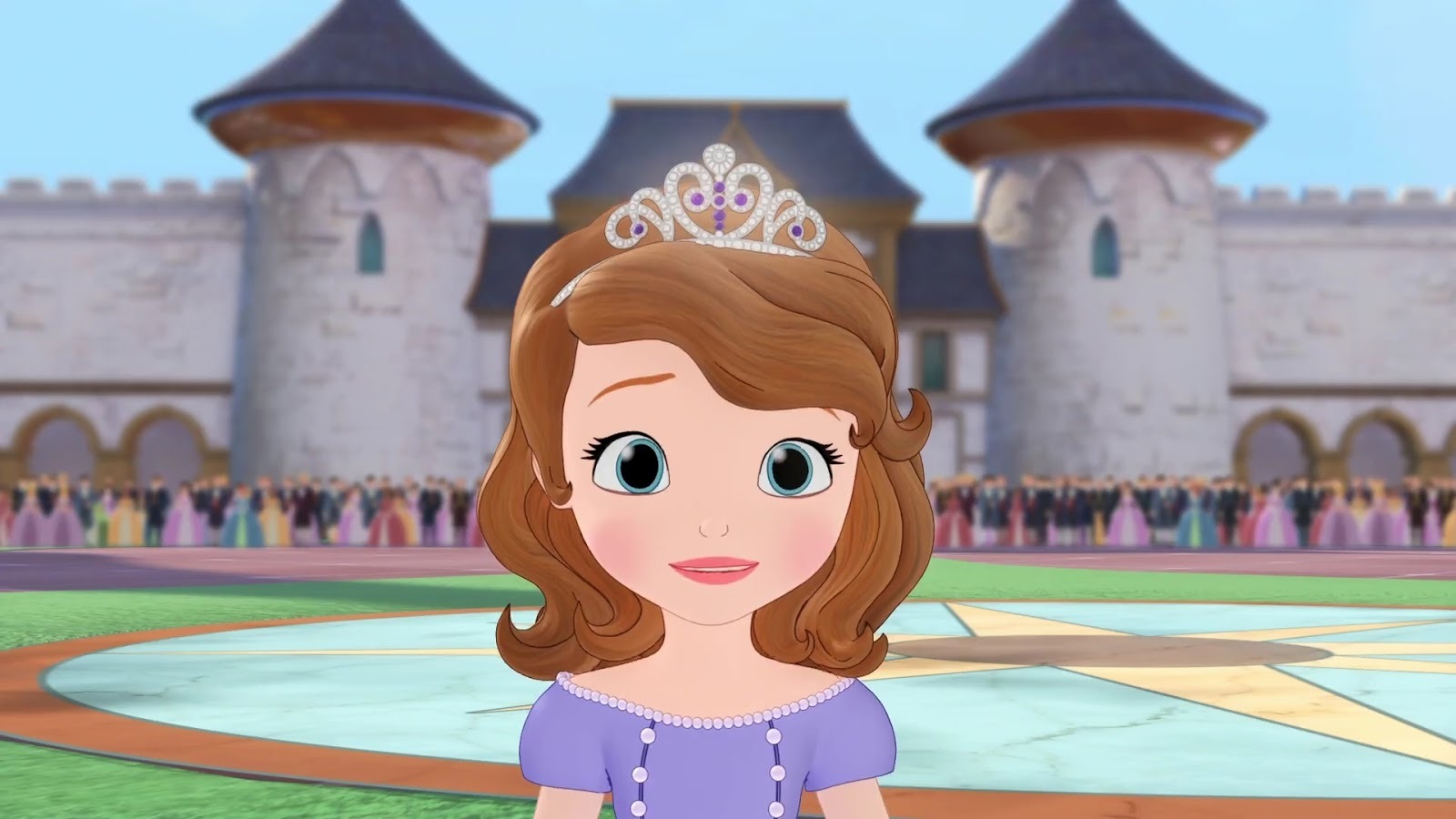 Sofia The First In Hindi , HD Wallpaper & Backgrounds