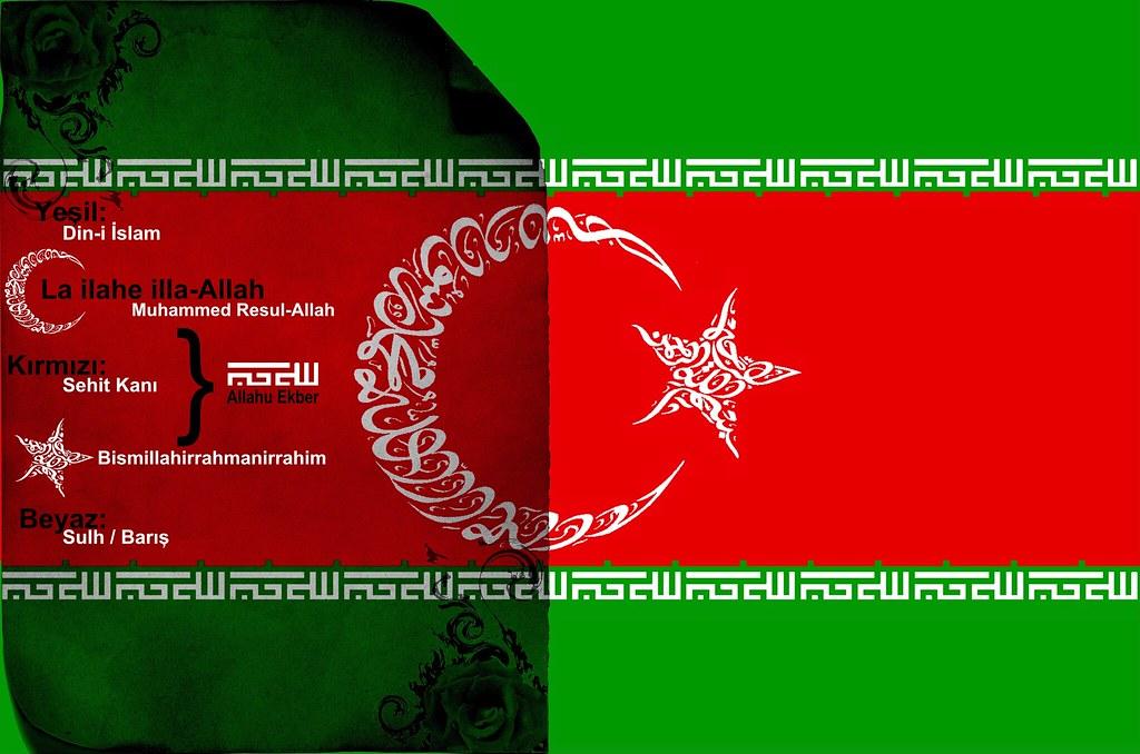 Ilk Bayrak Türk Bayragi Tags Turk Islam Bayragi 443462