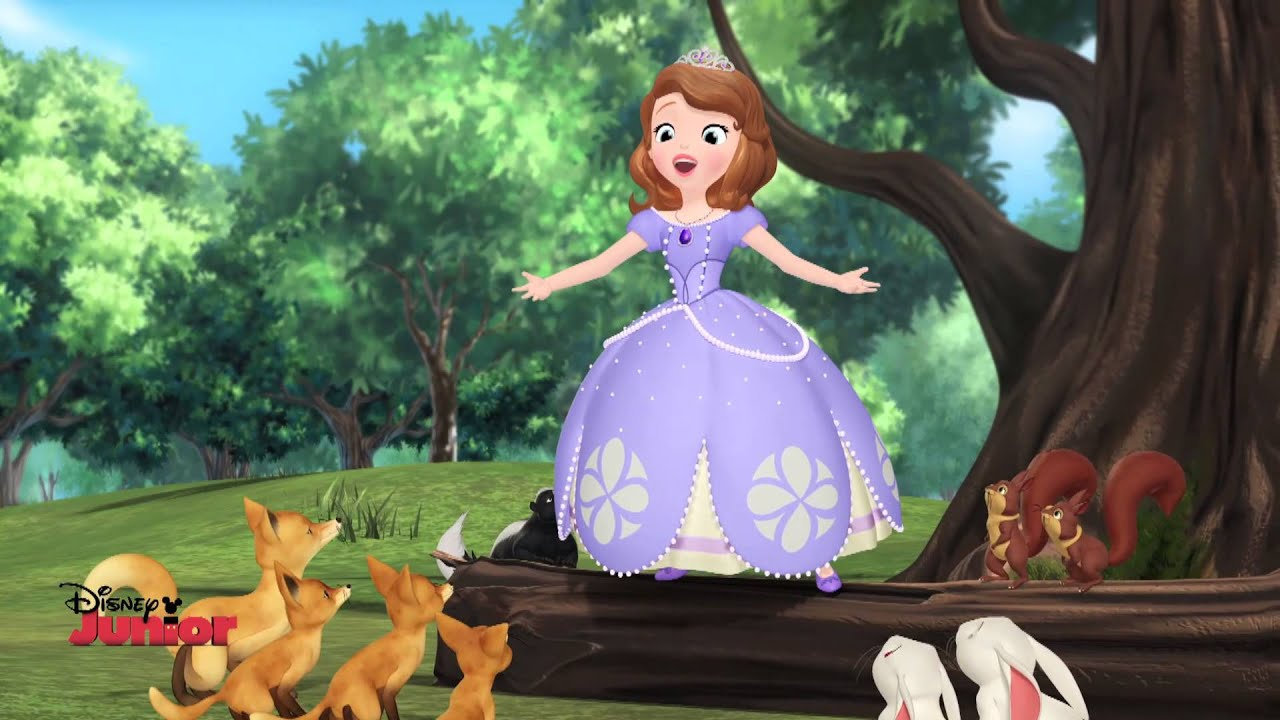 Sofia The First I Belong , HD Wallpaper & Backgrounds