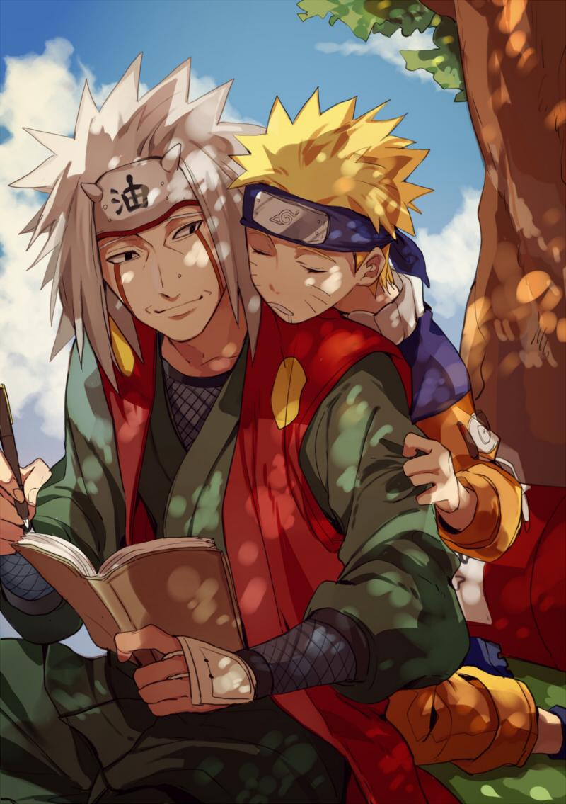 Anime Mon Naruto Uzumaki Naruto Jiraiya Fan Art