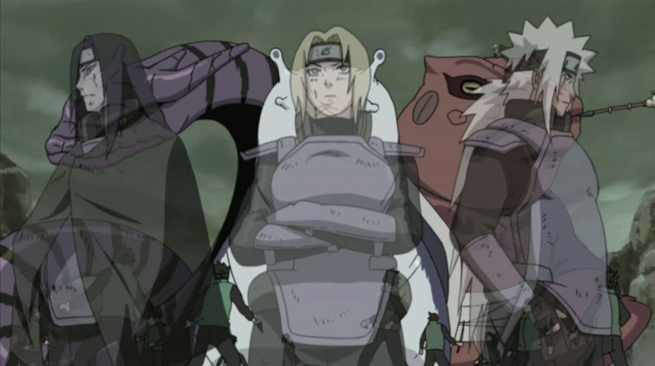 Legendary Three Ninja Images Jiraiya Tsunade Orochimaru