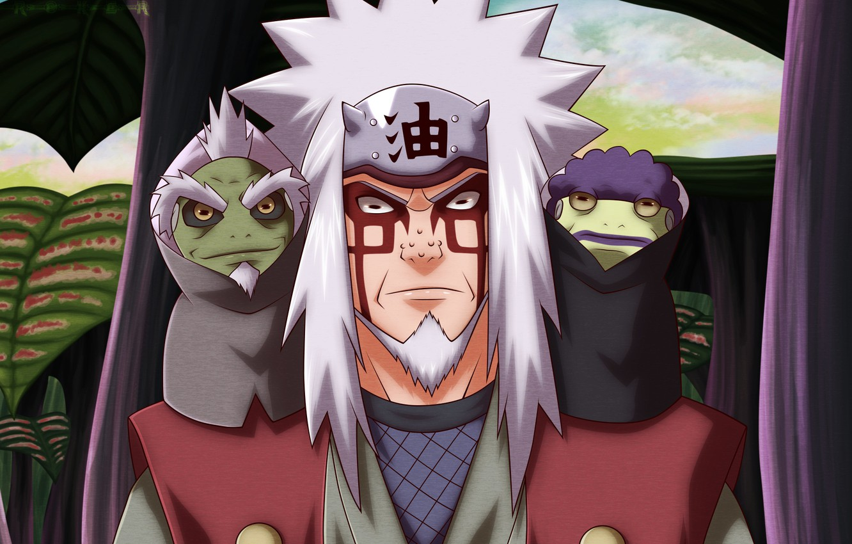 Photo Wallpaper Naruto Naruto Toad Jiraiya Jiraiya Mode