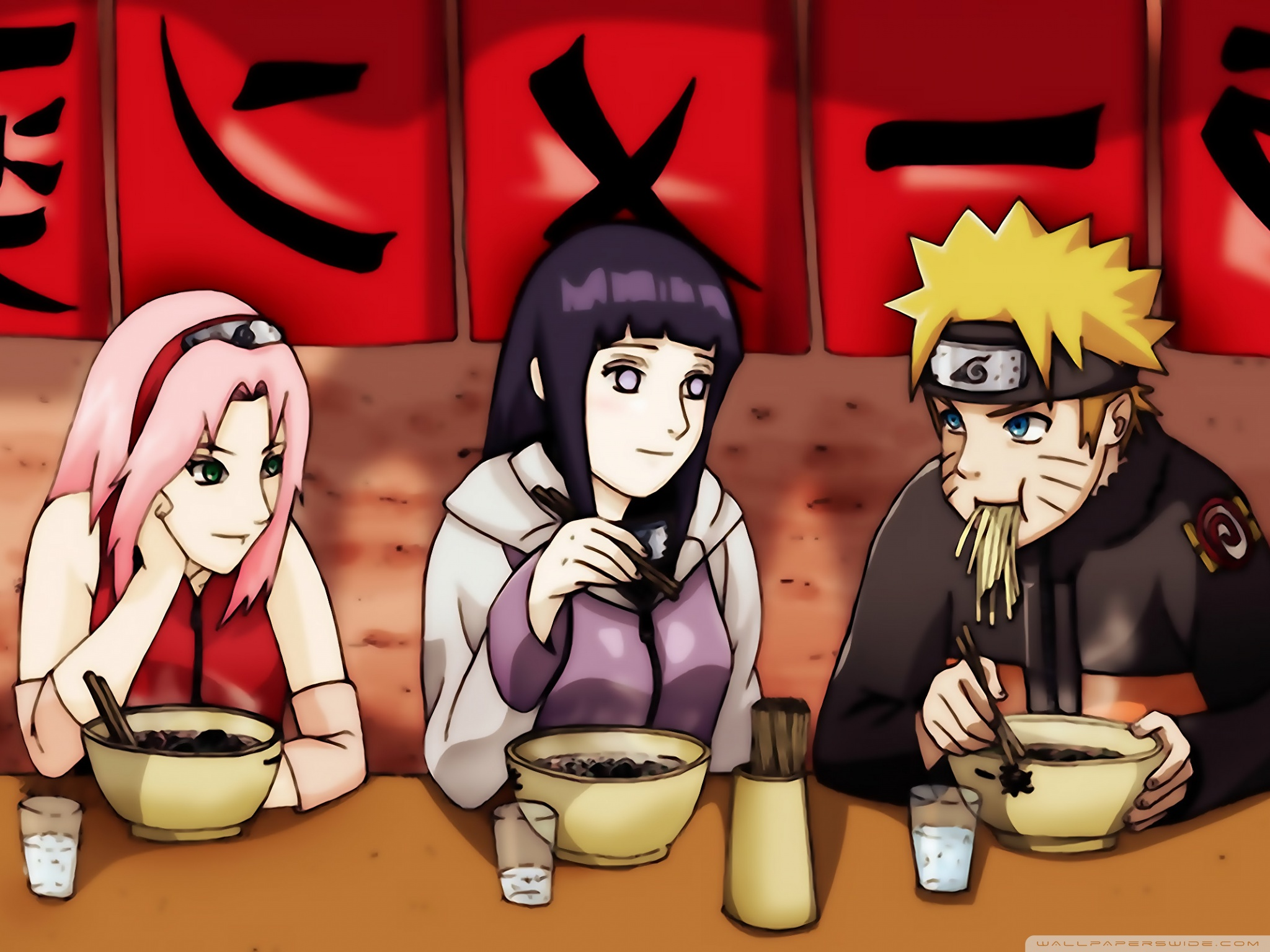 Standard - Hinata And Sakura Love Naruto (#446057) - HD Wallpaper &  Backgrounds Download