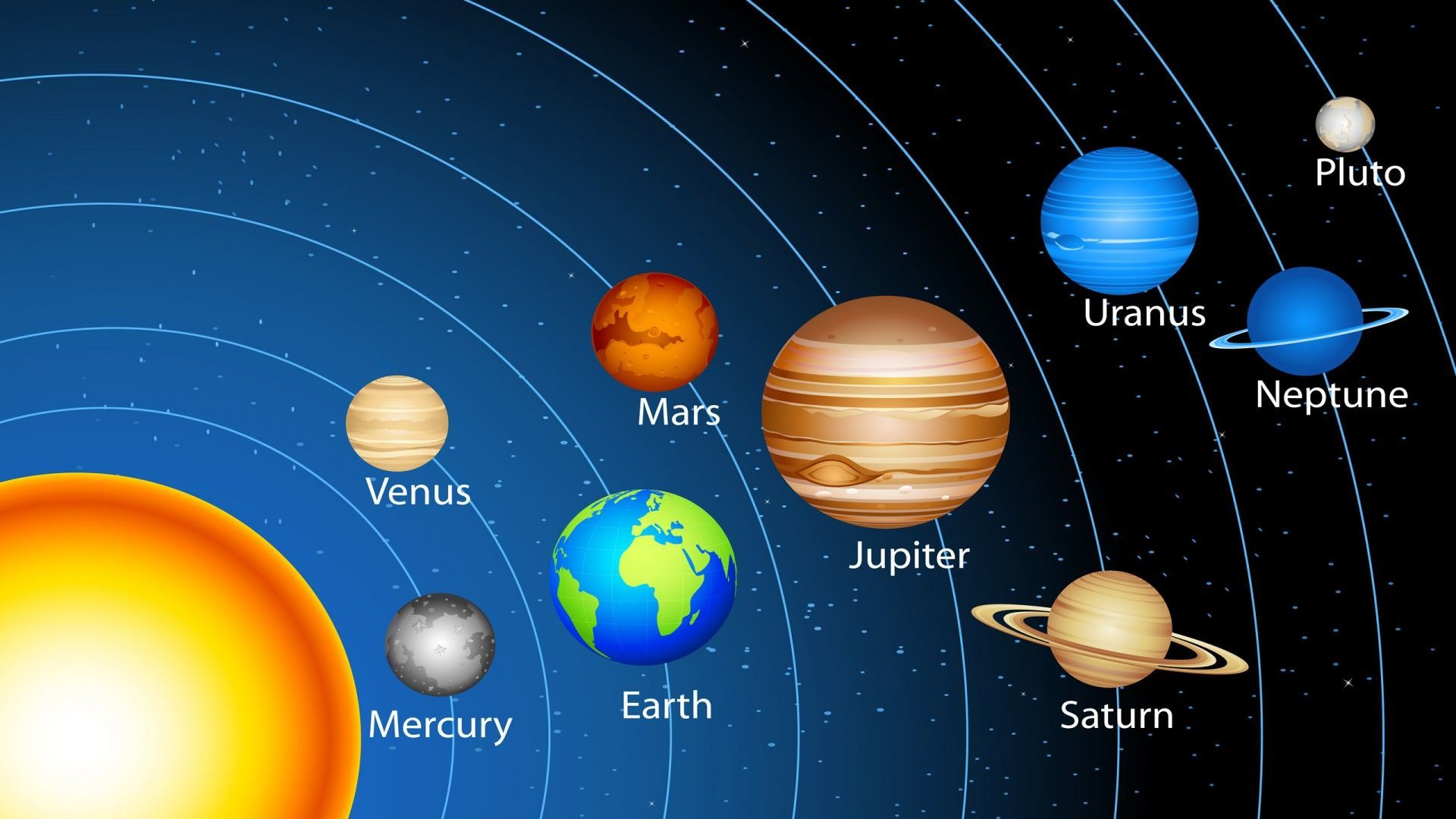Solar System Live Wallpaper Android Apps On Google - Solar System Images In Hd , HD Wallpaper & Backgrounds