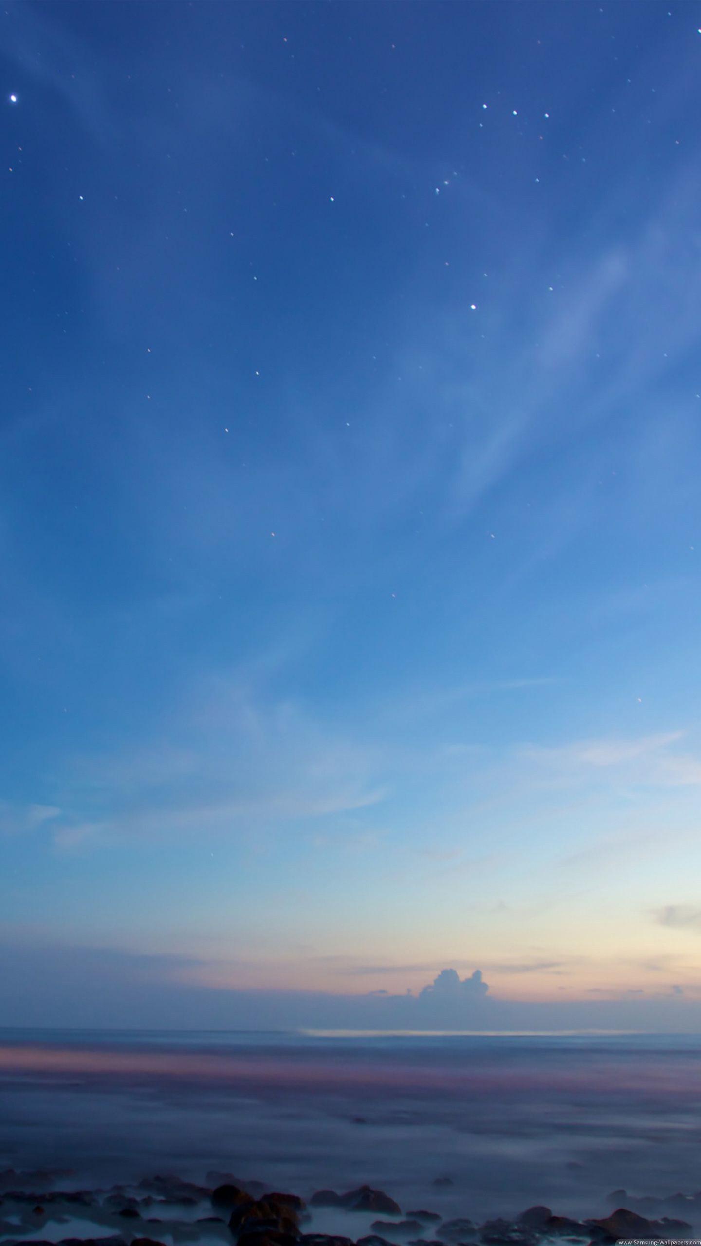 Beautiful Horizon Landscape Lock Screen Samsung Galaxy - 4k Iphone 7 Plus , HD Wallpaper & Backgrounds