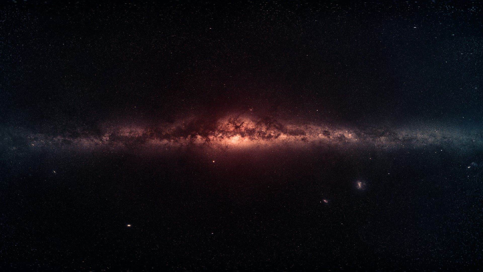 Outer - Milky Way , HD Wallpaper & Backgrounds