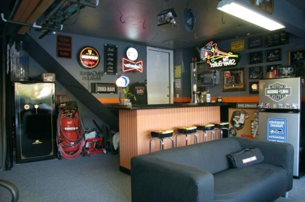 How - Small Garage Man Cave Ideas On A Budget , HD Wallpaper & Backgrounds