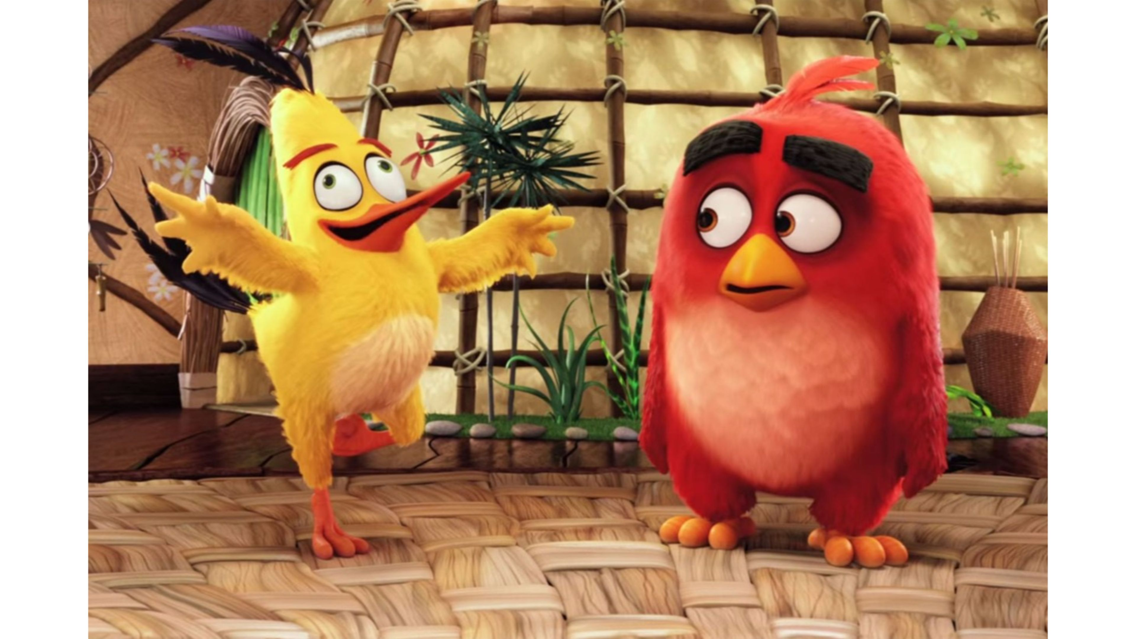 Trending The Angry Birds Movie Wallpaper - Chuck Angry Birds Voice , HD Wallpaper & Backgrounds