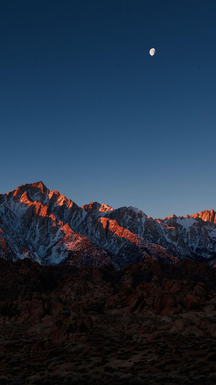Mount Whitney Alabama Hills Iphone Wallpaper - Mountain Wallpaper Iphone 7 , HD Wallpaper & Backgrounds