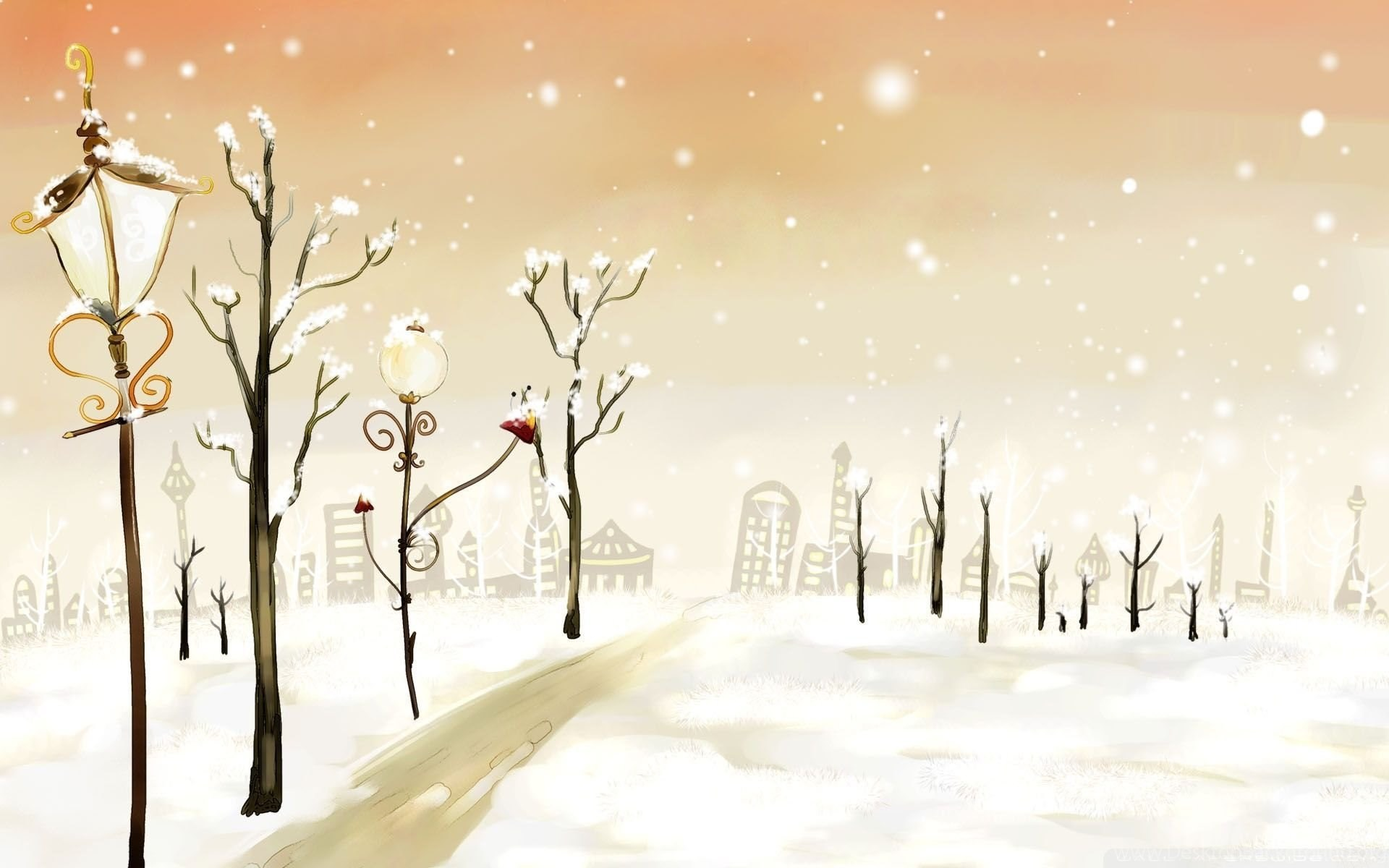 Winter Computer Wallpaper Cute Winter Backgrounds Desktop