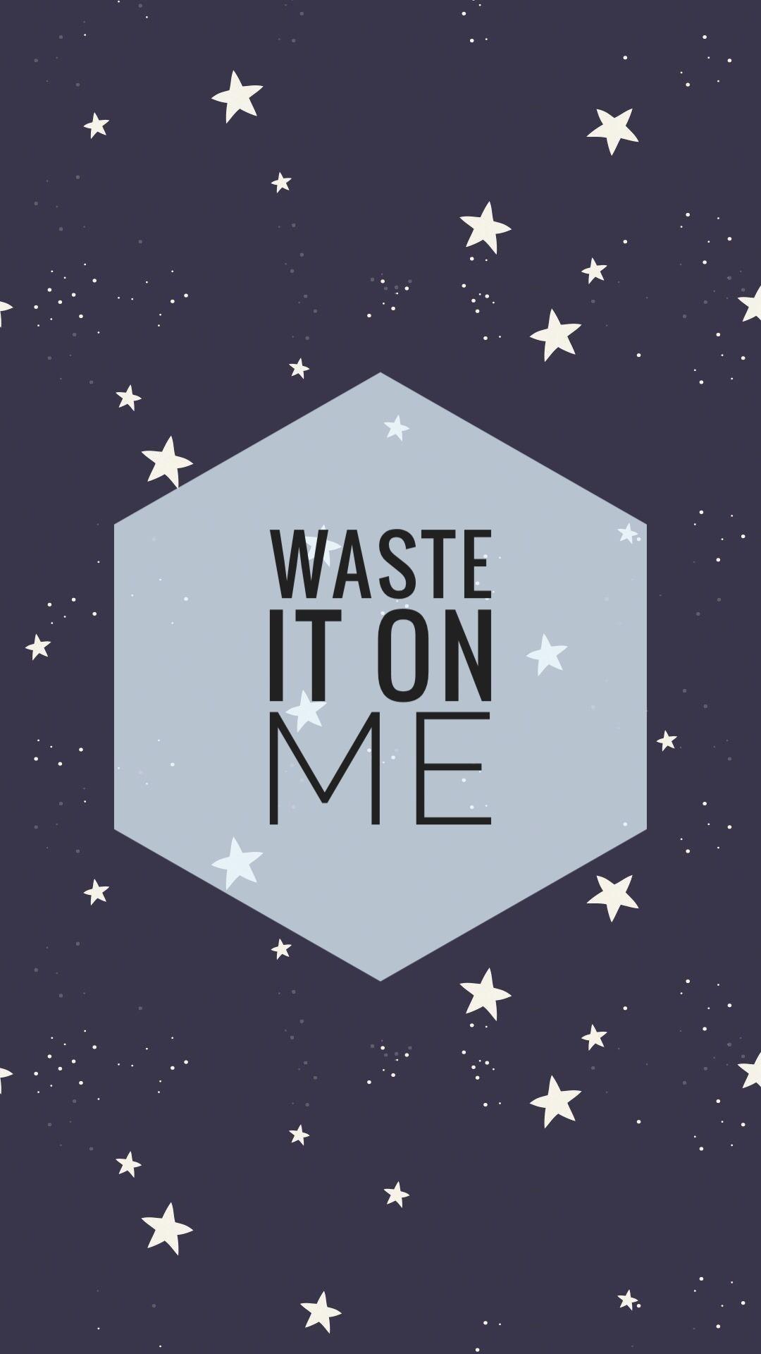 Bts Waste It On Me Lyric Wallpapers Bts Waste It On Me 452900