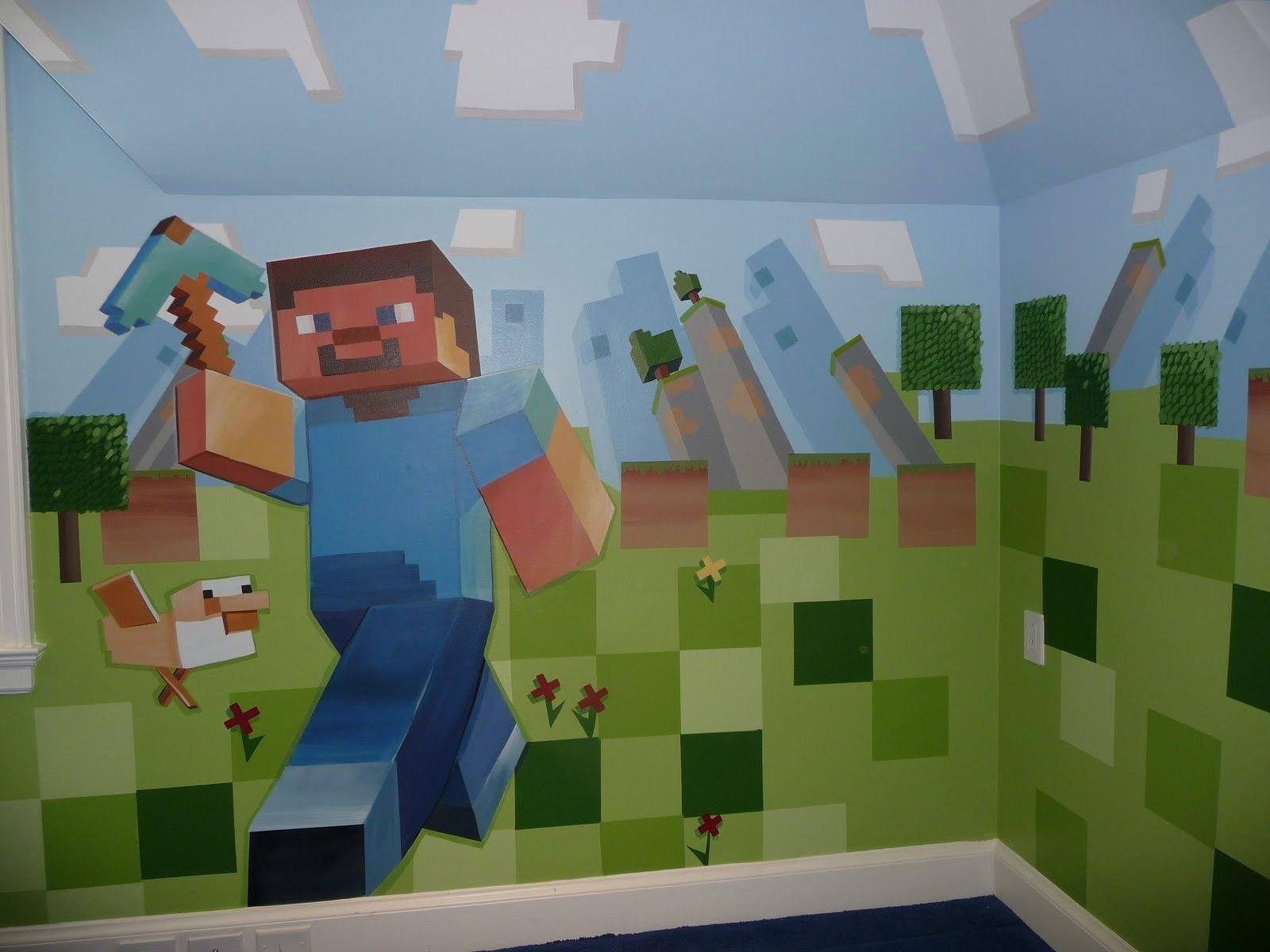 Minecraft Room Decor Ideas Fresh Minecraft Bedroom Minecraft Bedroom Wall Ideas 453517 Hd Wallpaper Backgrounds Download