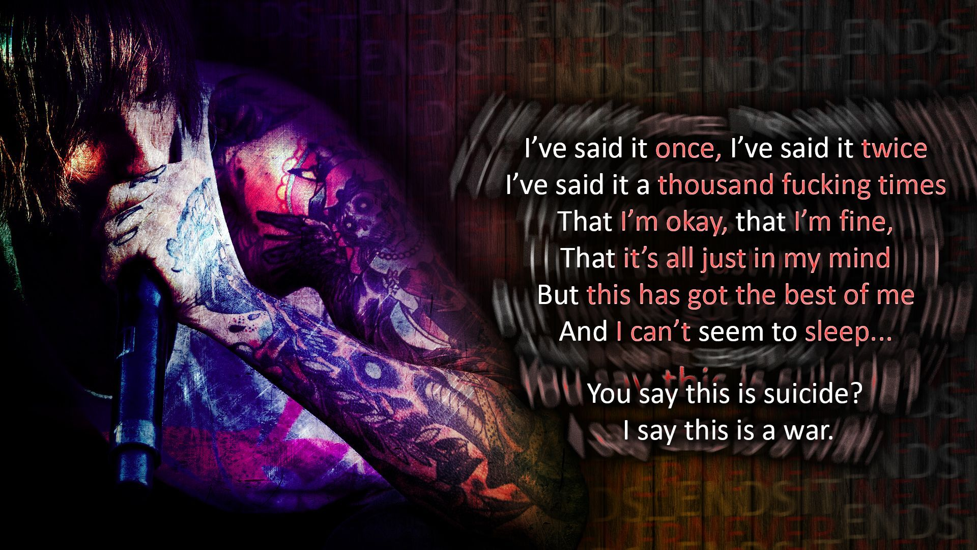 Bring Me The Horizon Wallpaper Never Ends Bring Me The Horizon