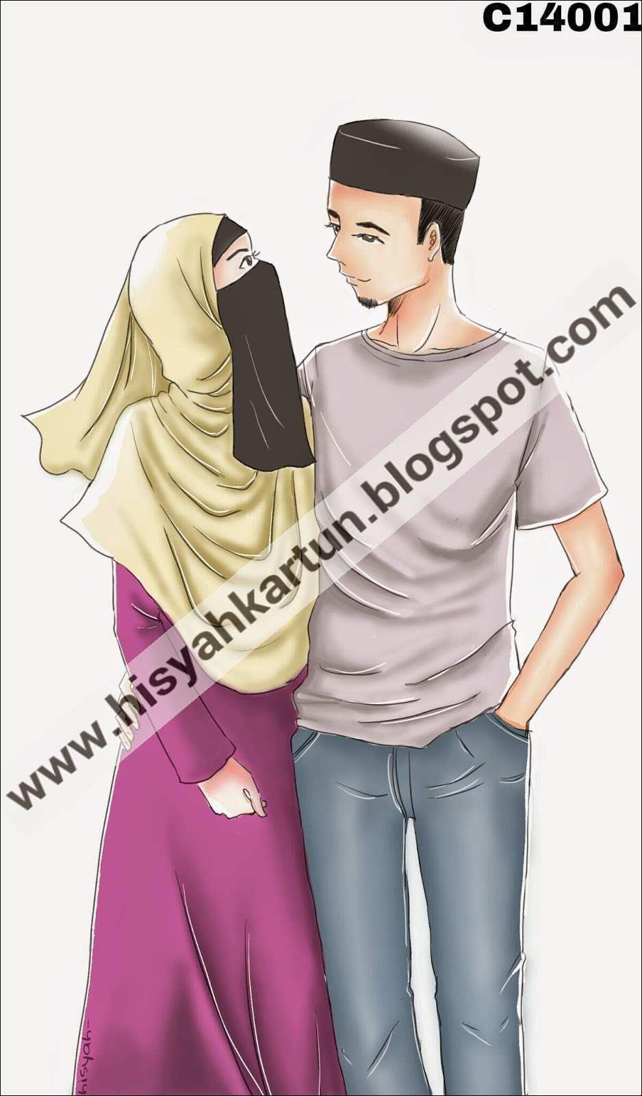 Gambar Kartun Muslimah Bergerak Terupdate Gambar Bergerak