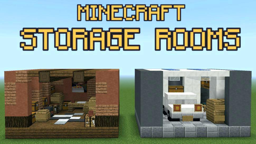 Minecraft Bedroom Design Bedrooms Storage Room Ideas