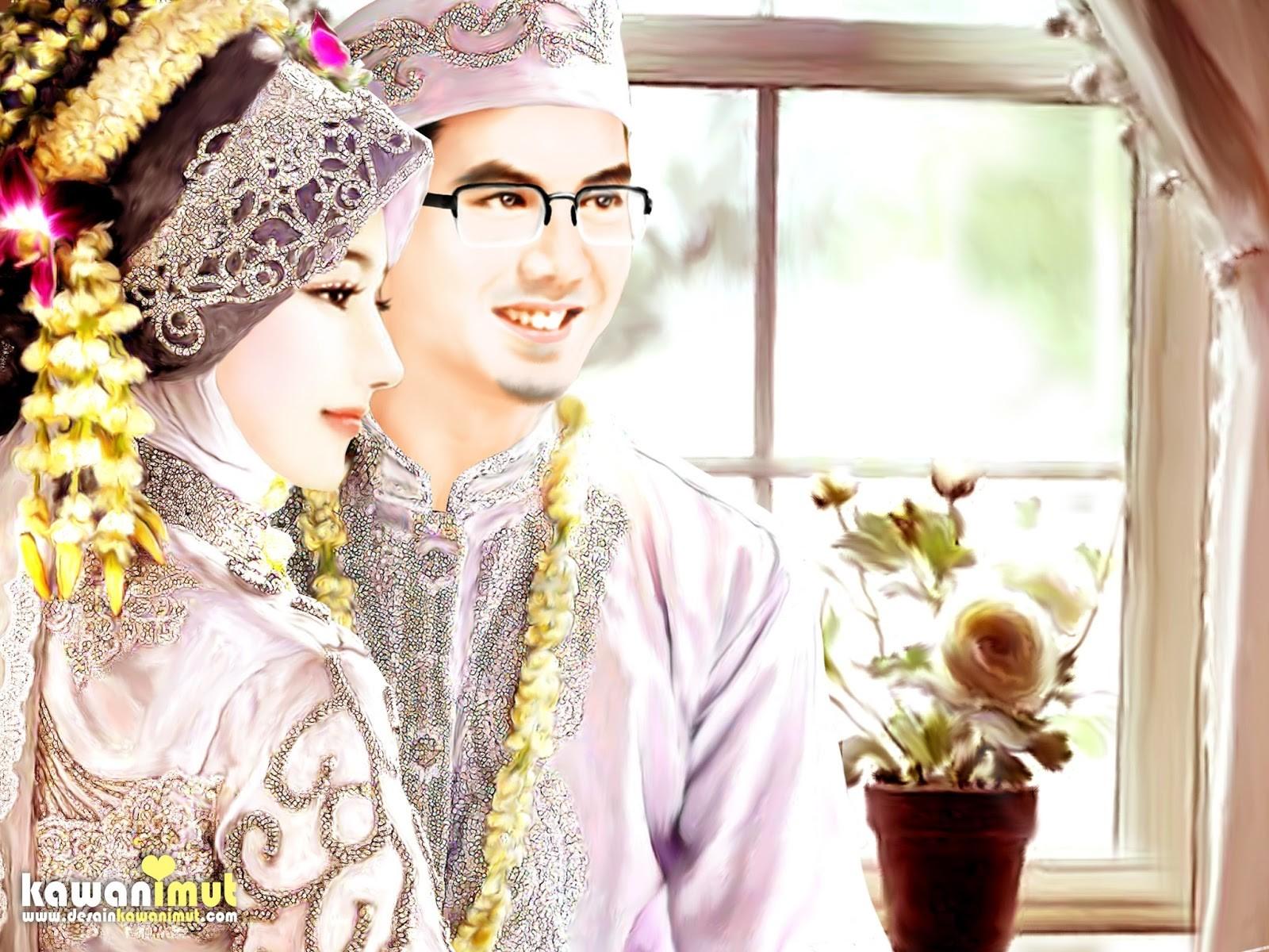 Foto Pernikahan Wanita Berhijab Inspirational Gambar