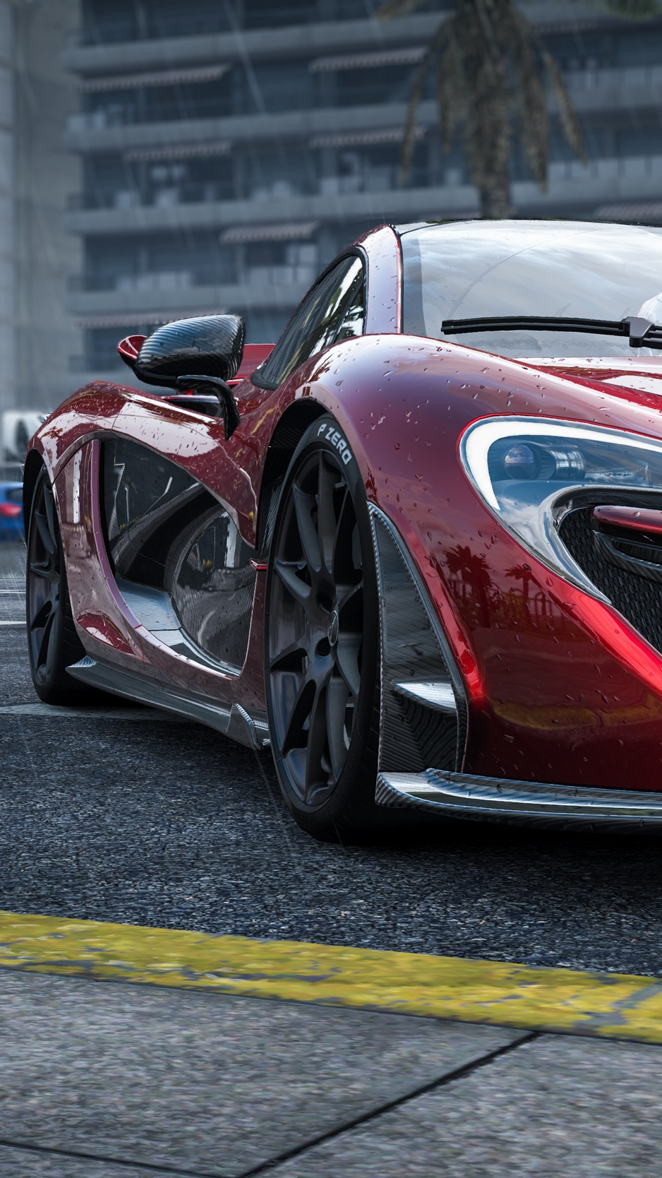 Wallpaper Mclaren P1 Mclaren Sports Car Front View Mclaren P1 456835 Hd Wallpaper Backgrounds Download