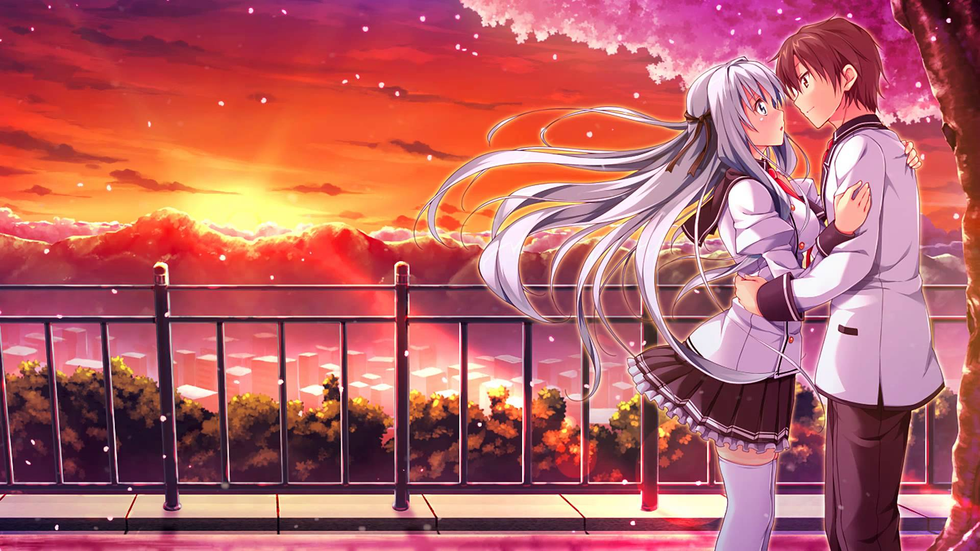Wallpaper Anime Romantis Hd Wallpaper Anime Romance