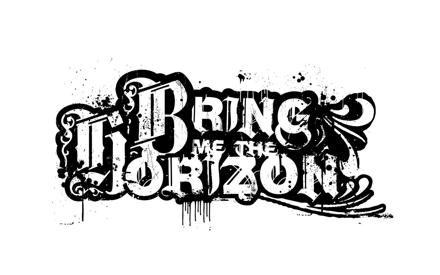 Wallpaper Bring Me The Horizon, Text, Sign, Graphics, - Bring Me The Horizon Facebook Cover , HD Wallpaper & Backgrounds