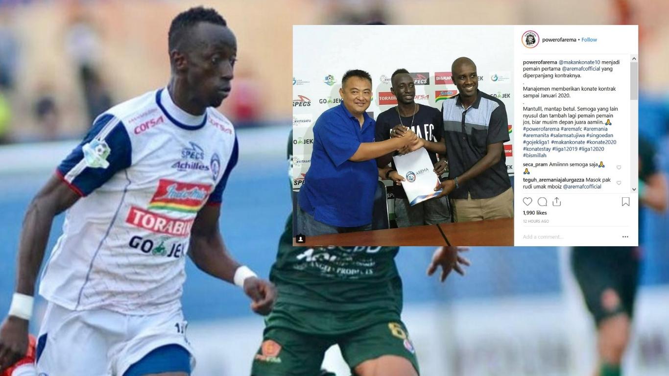 Indonesia Liga 1 Team Arema Fc Confirm Extension Player