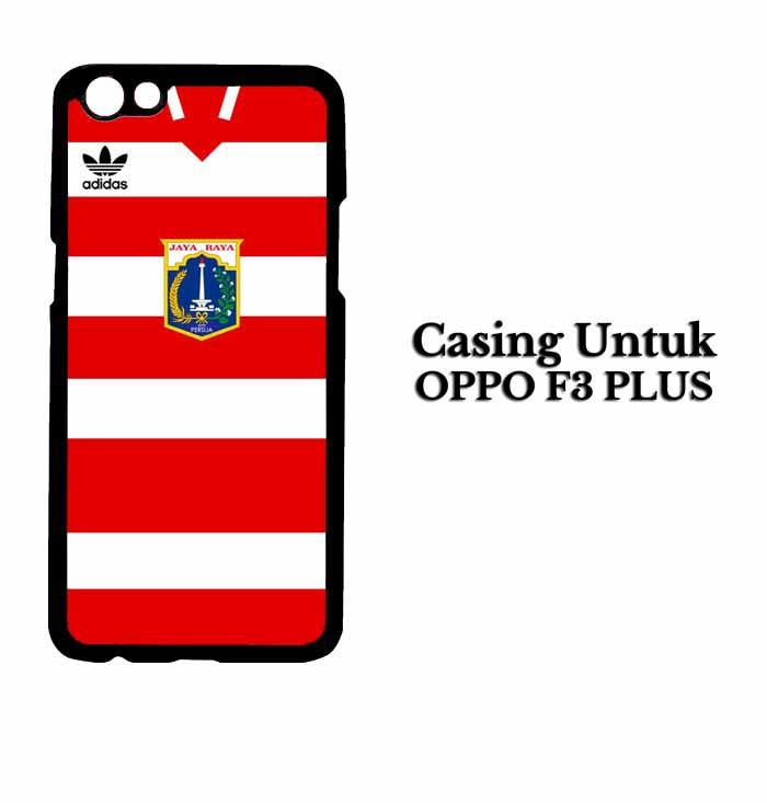 Casing Oppo F3 Plus Persija 2 Hardcase Custom Case Jakarta