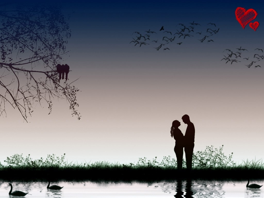 Wallpaper Download Hd Love Couple With Lovely Background Love