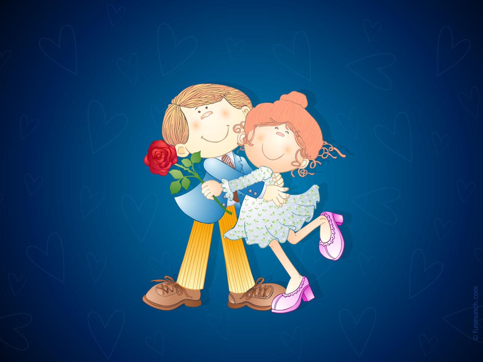 Love Couple Hd Wallpaper Love Couple Wallpapers In Hd Cartoon