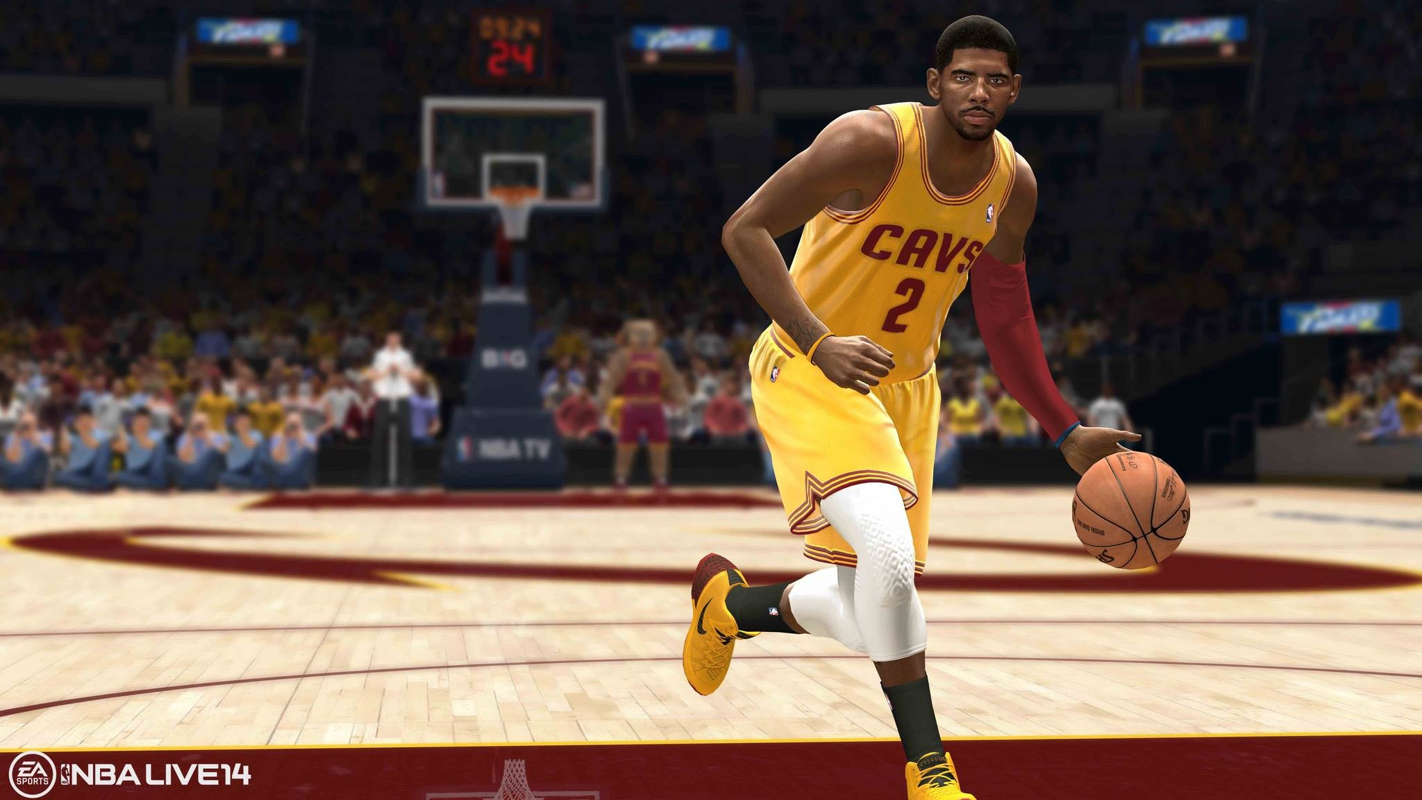 Kyrie - Nba Live 17 Xbox 360 , HD Wallpaper & Backgrounds