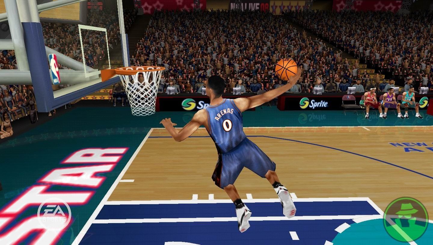Live Wallpaper For Ps3 - Nba Live 08 Psp , HD Wallpaper & Backgrounds