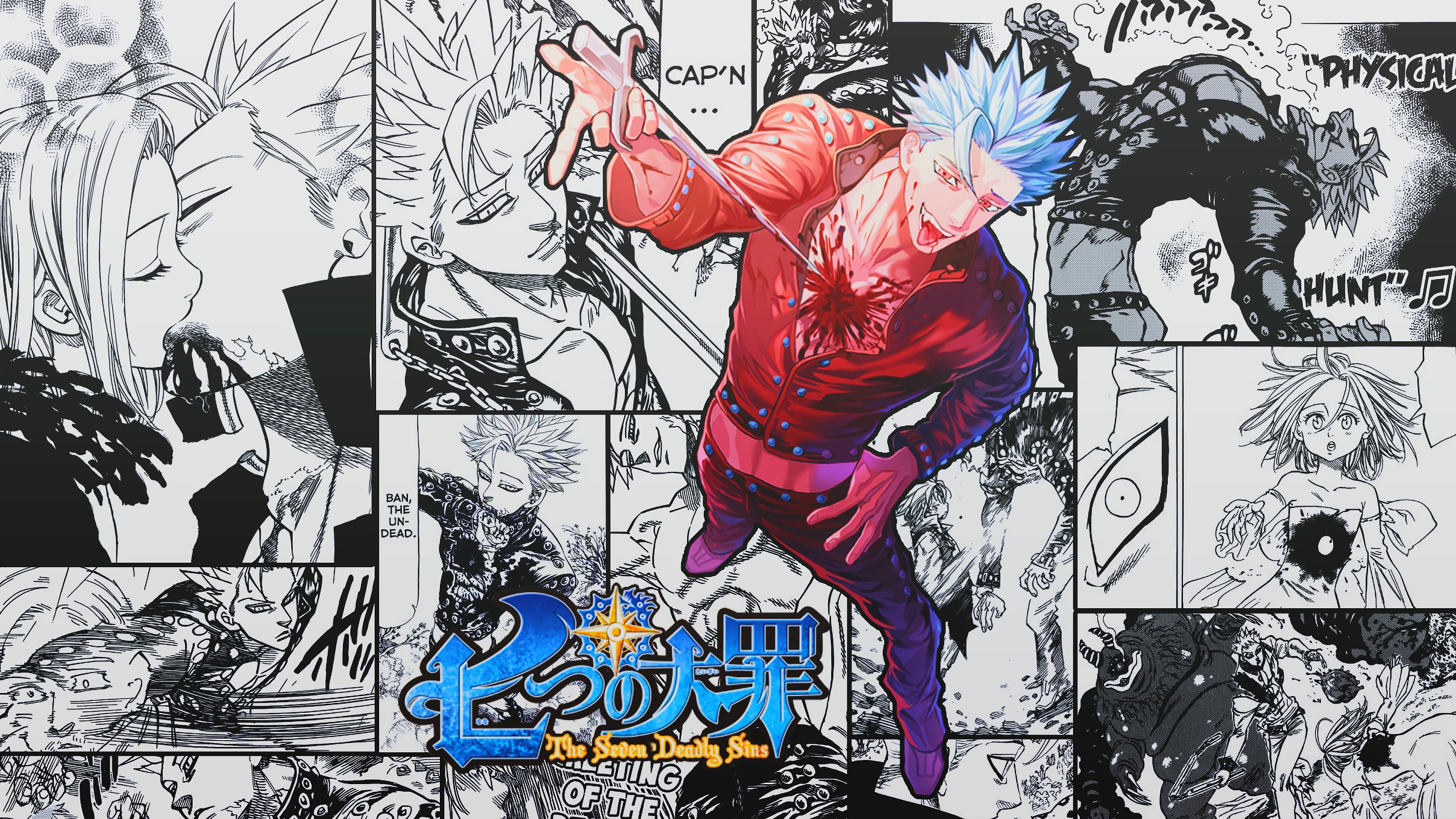 Ban Nanatsu No Taizai The Seven Deadly Sins Anime Seven