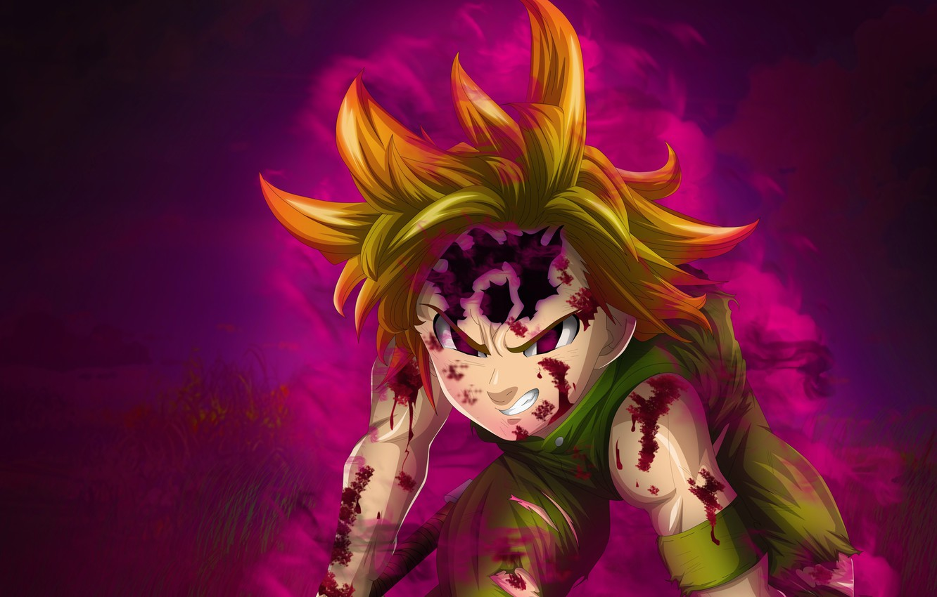 Photo Wallpaper Game Anime Asian Manga Nanatsu Nanatsu