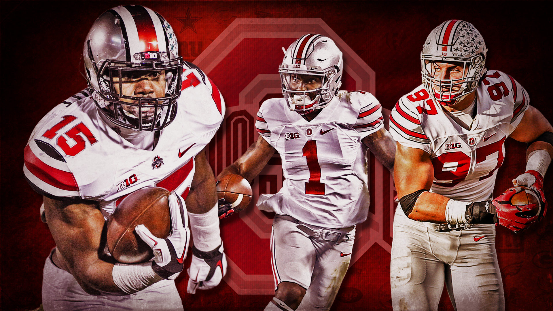Zeke Elliott Wallpaper Ohio State 467686 Hd Wallpaper
