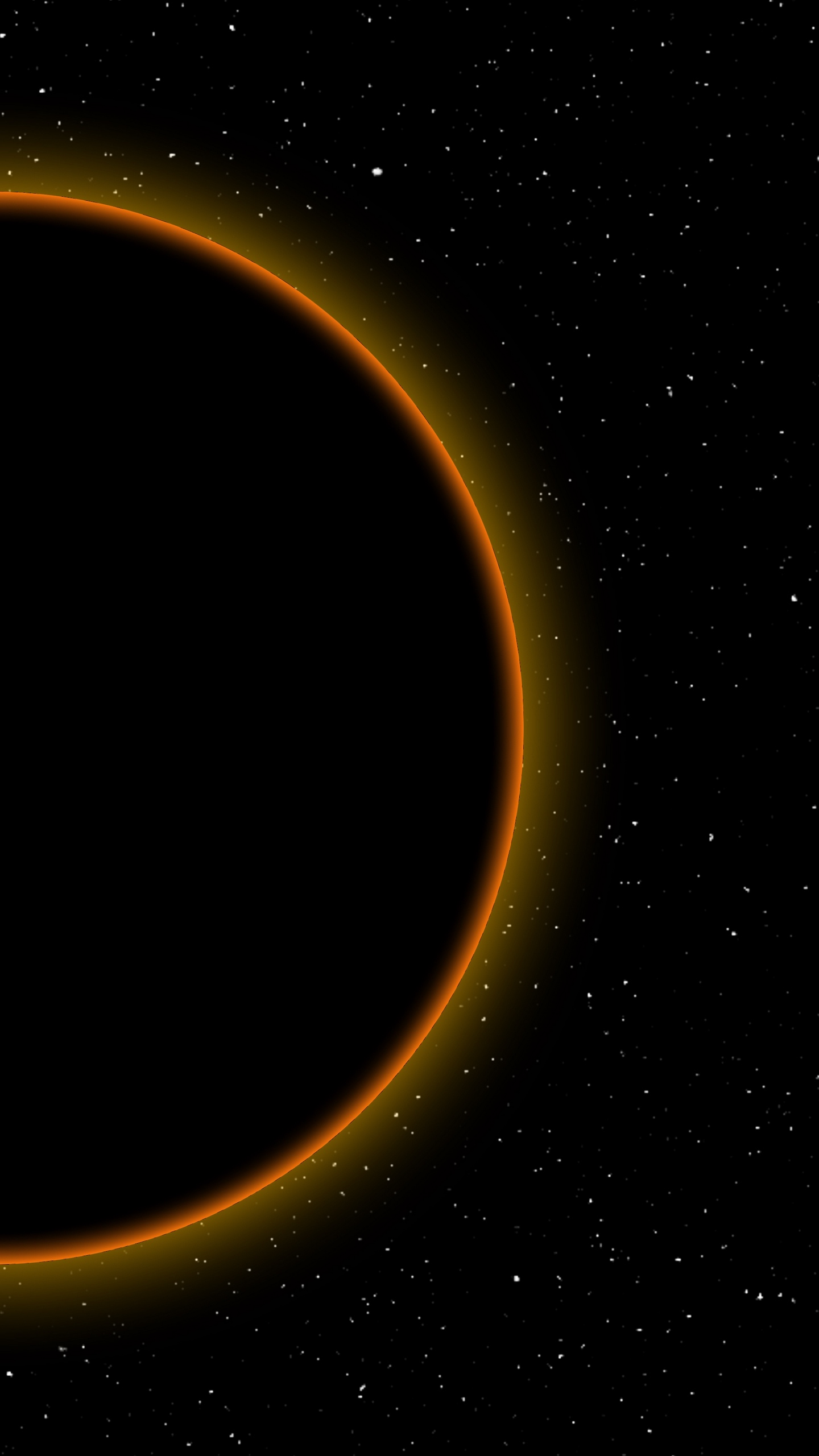 Wallpaper Eclipse, Moon, Sun, Space, Dark, Full Moon - Outer Space , HD Wallpaper & Backgrounds
