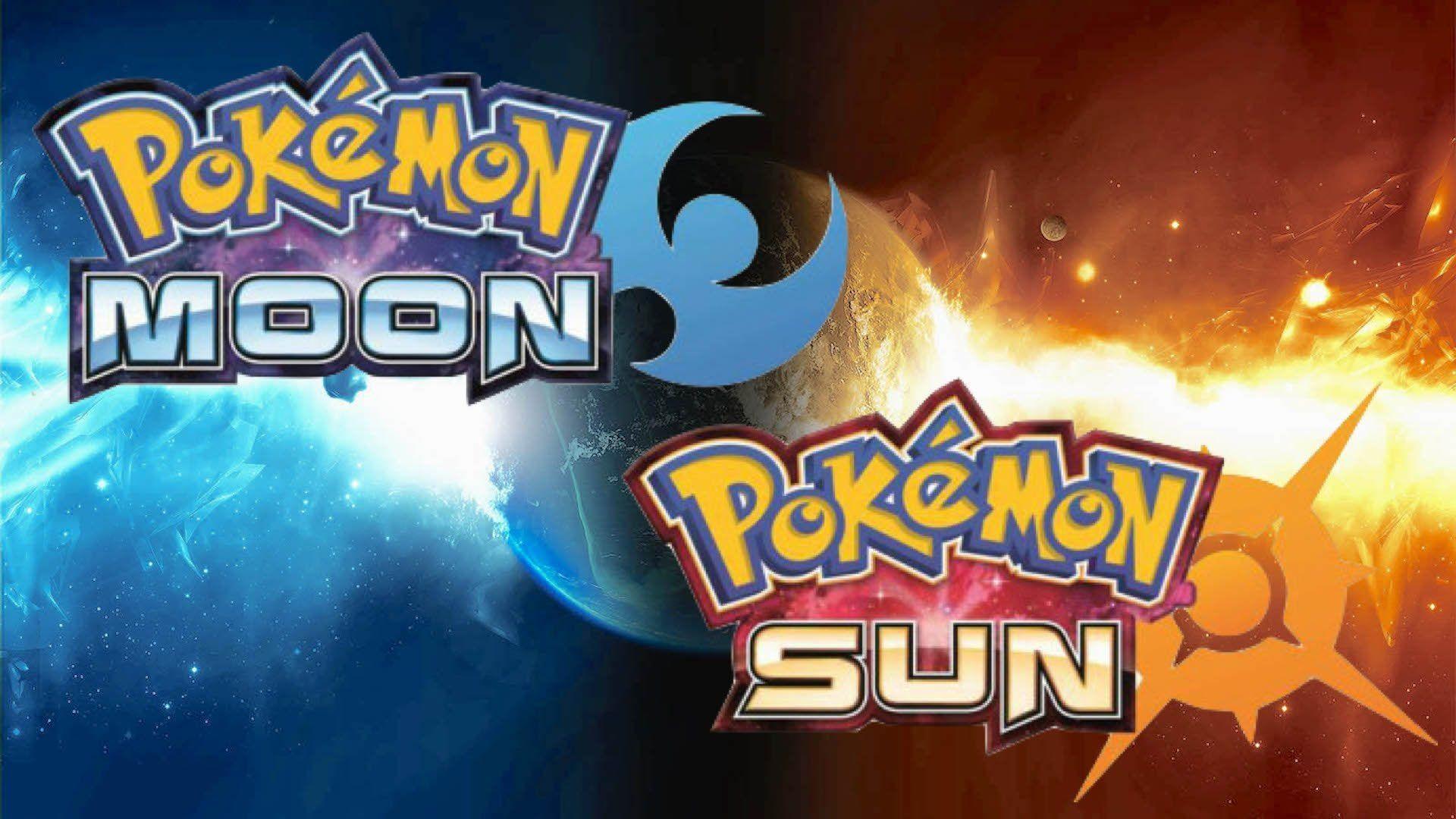 Pokémon Sun And Moon Hd Wallpaper - Pokemon Sun And Moon , HD Wallpaper & Backgrounds
