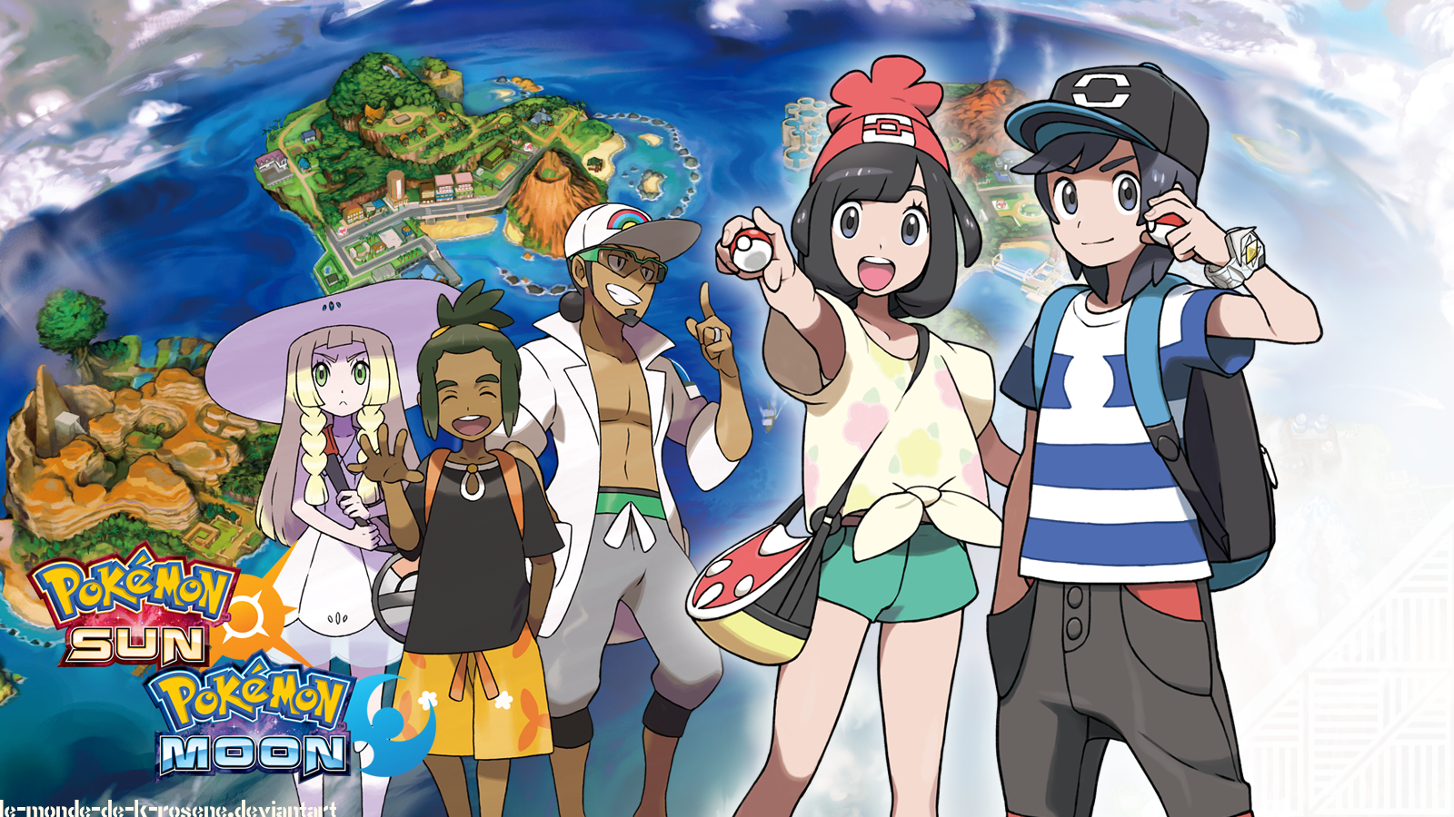 Pokemon Sun And Moon Wallpaper And Background Image Sun Moon