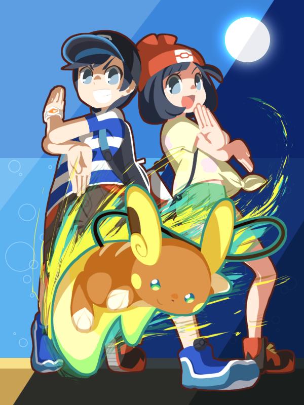 View Fullsize Pokémon Sun & Moon Image - Cartoon , HD Wallpaper & Backgrounds