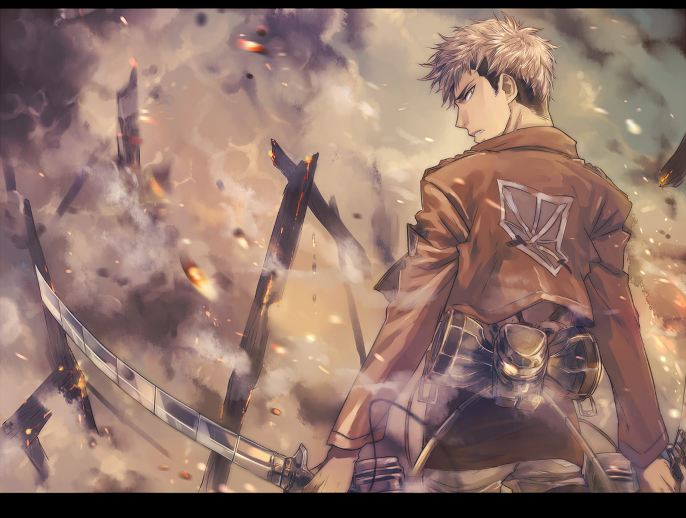 Aot Wallpapers Attack On Titan Jean Fighting 470087 Hd Wallpaper Backgrounds Download
