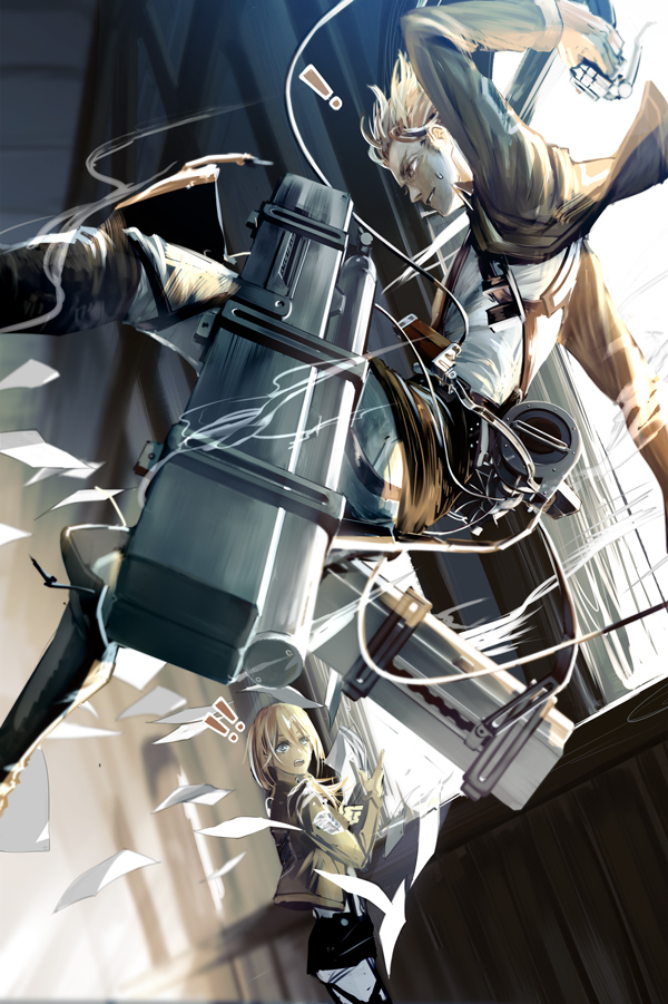 Attack On Titan Attack On Titan Nanaba Fanart 470564 Hd Wallpaper Backgrounds Download