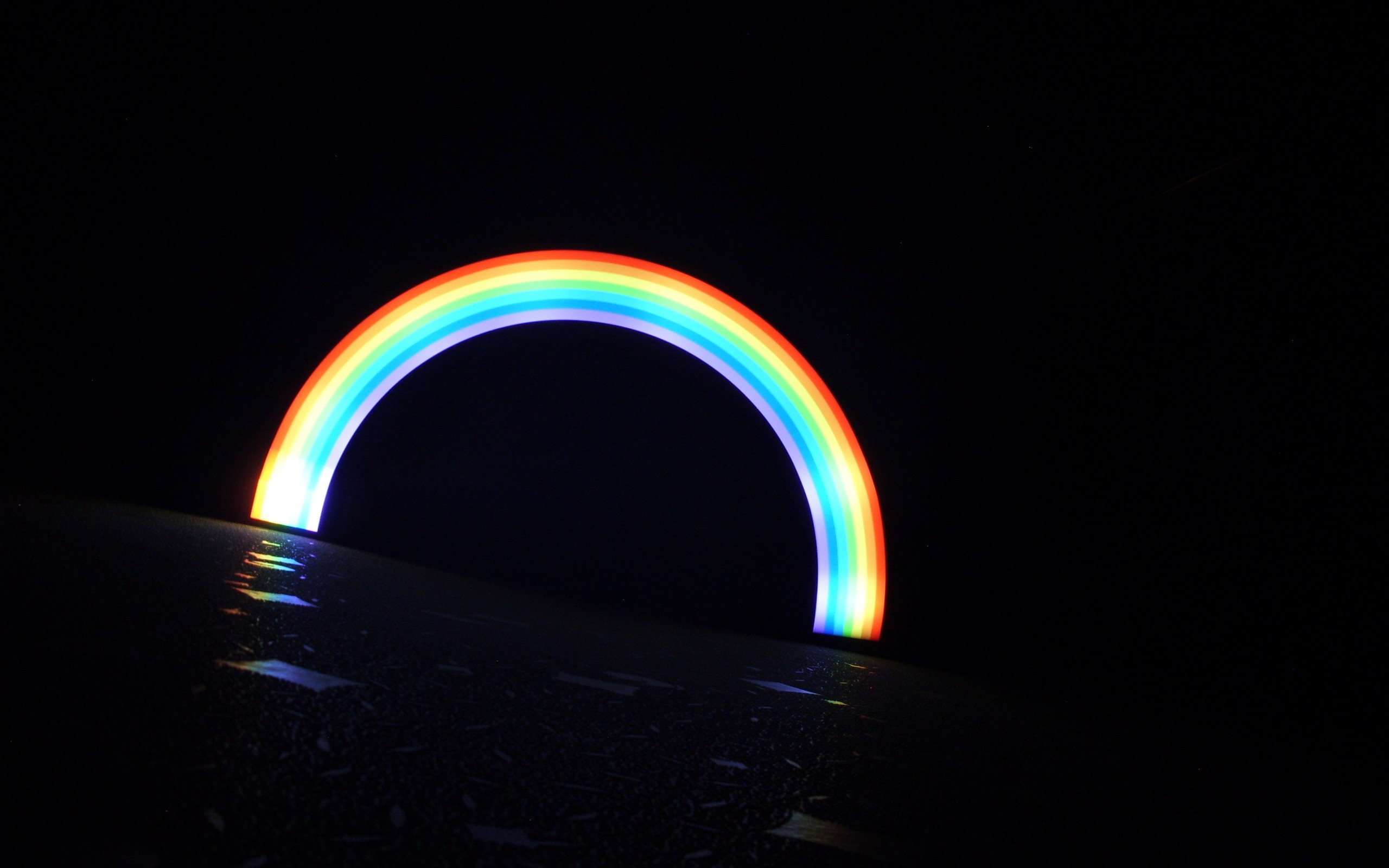 Led Rainbow Wallpaper Fondos De Pantalla Hd Led 470833