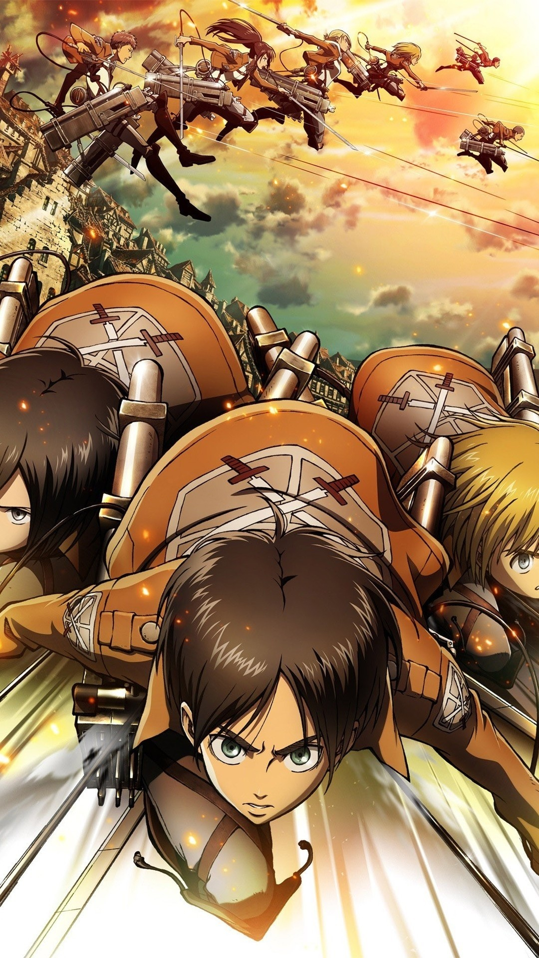 Attack On Titan Iphone Wallpaper 235711 Iphone Attack On Titan 471766 Hd Wallpaper Backgrounds Download
