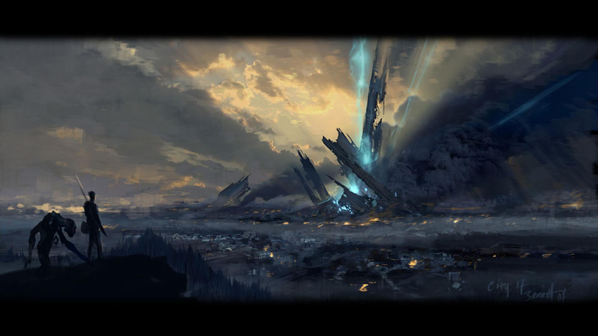 Half Life 2 Art 472869 Hd Wallpaper Backgrounds Download