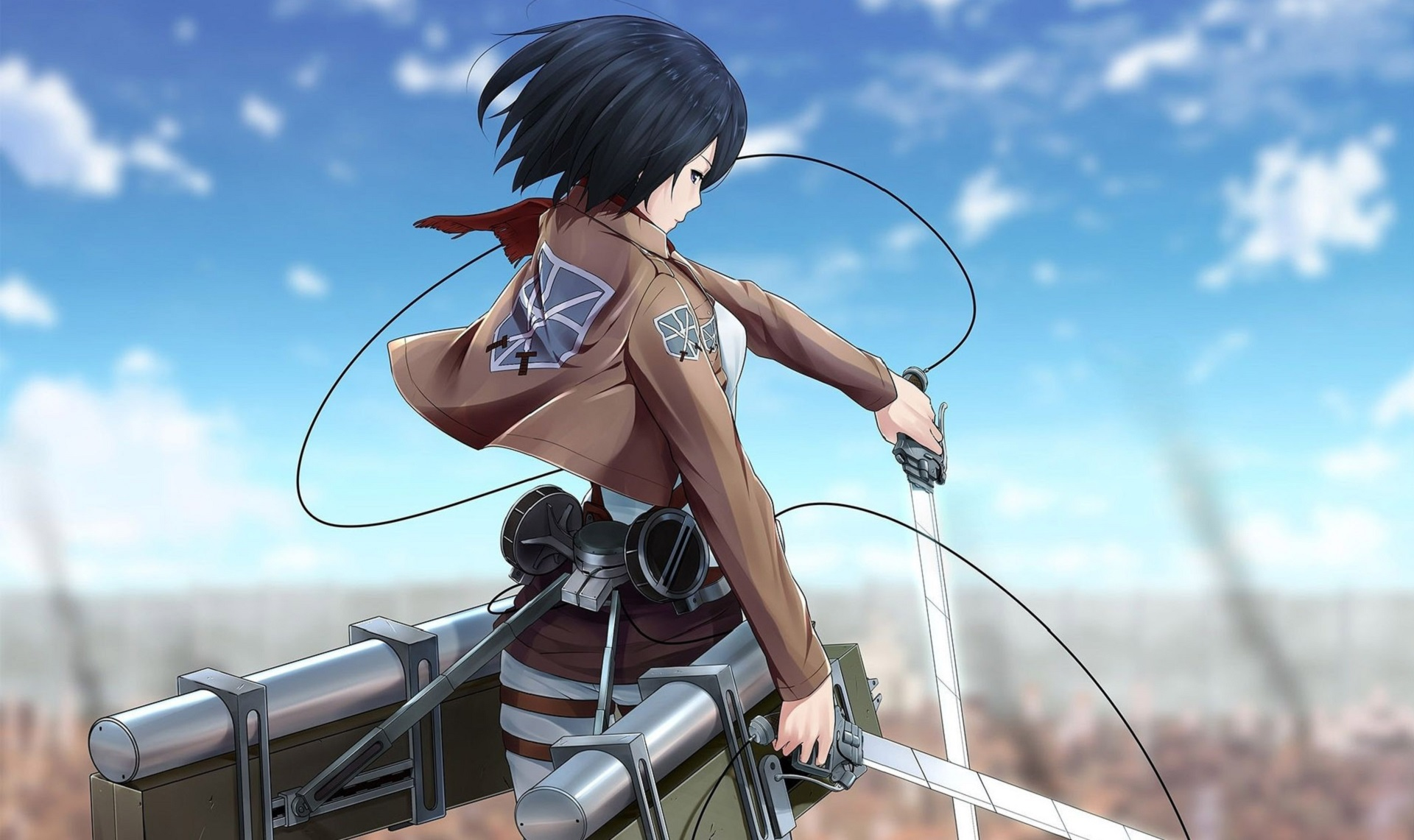 Mikasa Ackerman Background Attack On Titan Mikasa Wallpaper 4k 473458 Hd Wallpaper Backgrounds Download