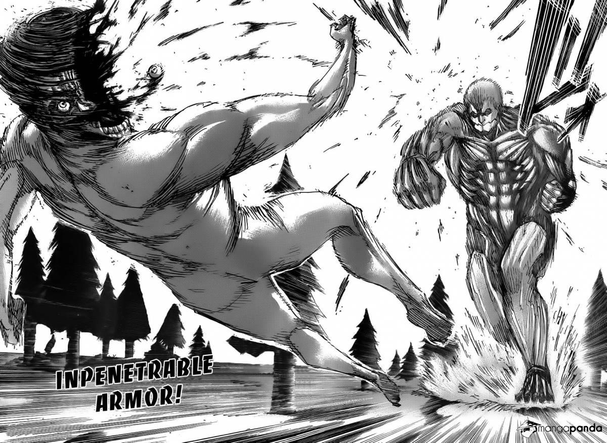 Shingeki No Kyojin Manga 3 Hd Wallpaper Manga Eren Vs Reiner 473621 Hd Wallpaper Backgrounds Download