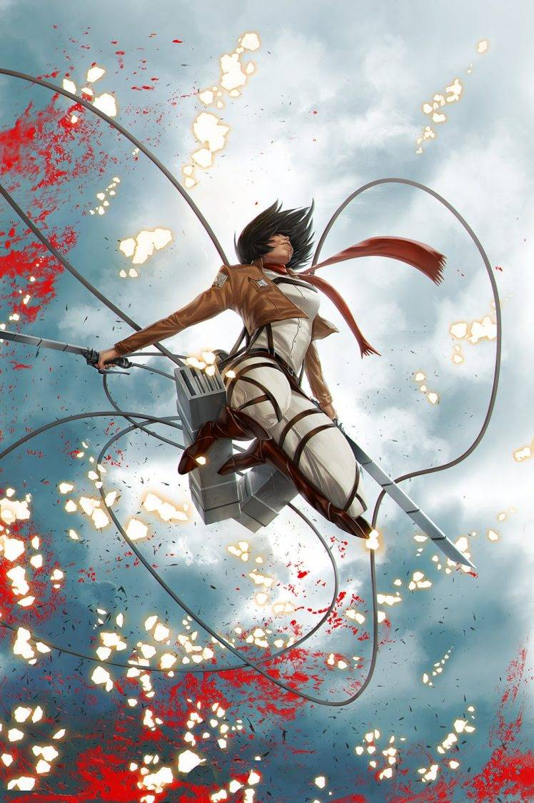 Anime Wallpaper Attack On Titan Mikasa