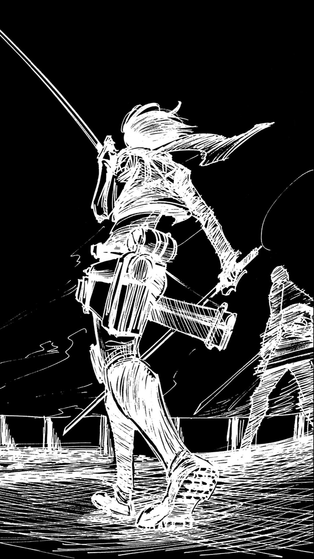 Iphone Wallpaper Cartoon Black